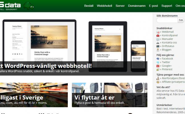 Billigt webbhotell